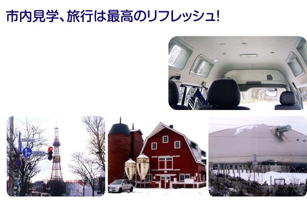 札幌市豊平区の介護タクシーSSケア・サポートの観光案内